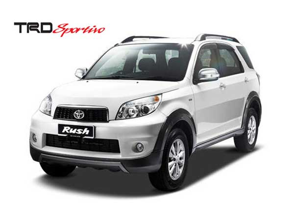 Menjajal Toyota Rush TRD Sportivo Ultimo A_T