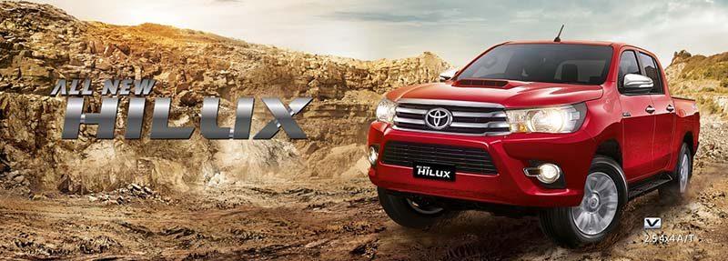Harga Toyota Hilux Bandung