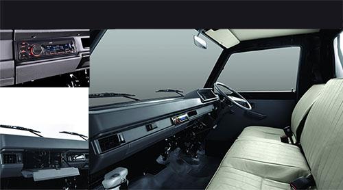 Interior Mitsubishi L300 Pickup