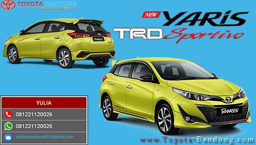 Spesifikasi Toyota Yaris TRD Sportivo 2018