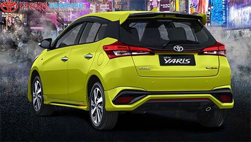 bagian belakang Toyota Yaris TRD Sportivo 2018