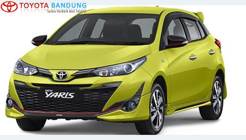 bagian depan Toyota Yaris TRD Sportivo 2018