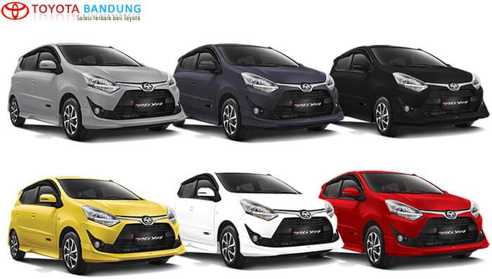 Pilihan Warna Toyota Agya 2018