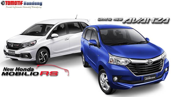 Komparasi Toyota Avanza vs Honda Mobilio