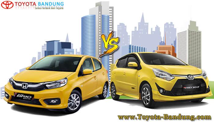 Komparasi Toyota Agya vs Honda Brio