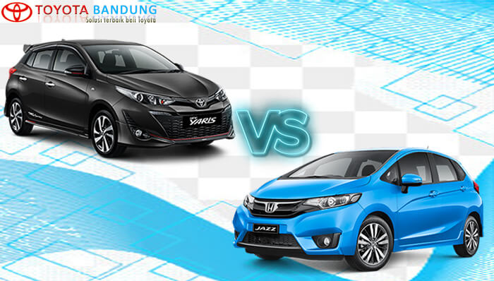 Komparasi Toyota Yaris vs Honda Jazz