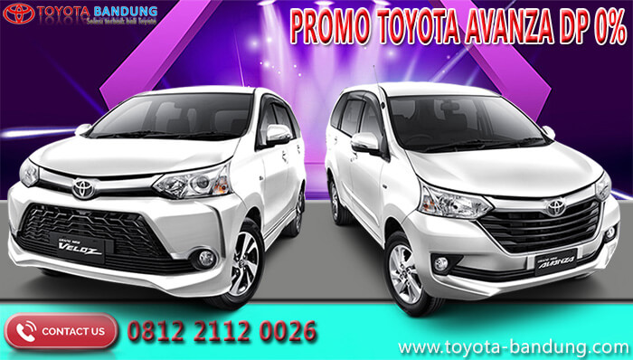 Promo Toyota Avanza DP 0%