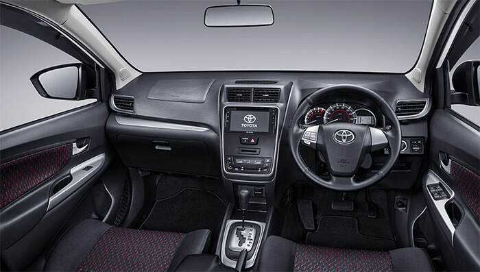 Interior New Avanza Veloz