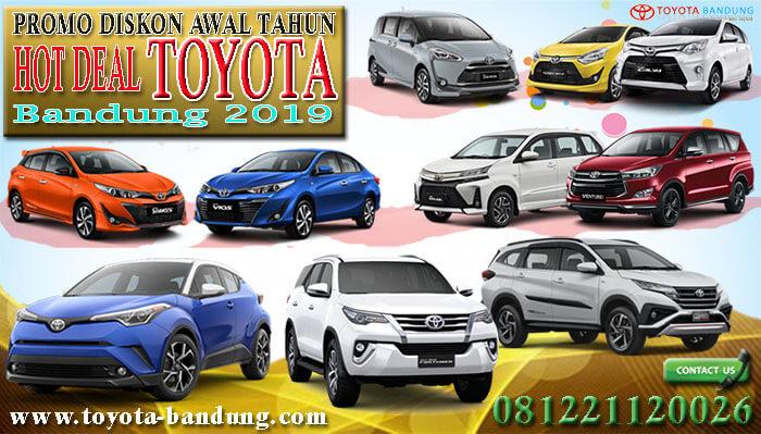 Hot Deal Toyota Bandung 2019