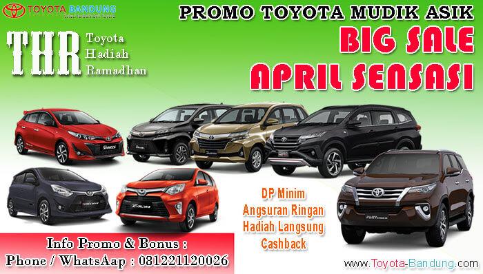 Promo Mudik Asik Toyota Bandung 2019