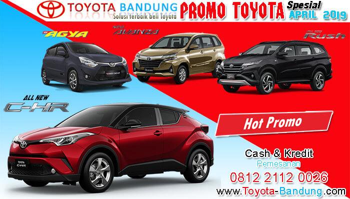 Promo Toyota Bandung April 2019
