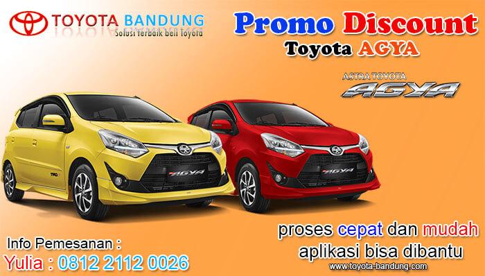 Promo Agya Bandung Bulan Juli 2019