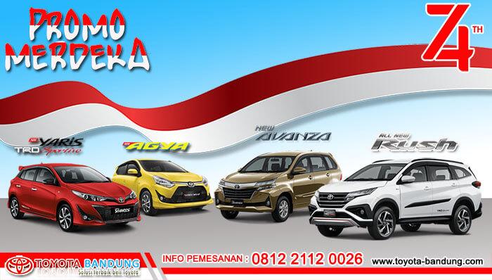 Promo Agustus Merdeka Toyota Bandung 2019