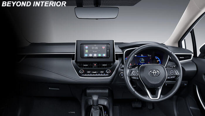 BEYOND INTERIOR ALL NEW COROLLA ALTIS