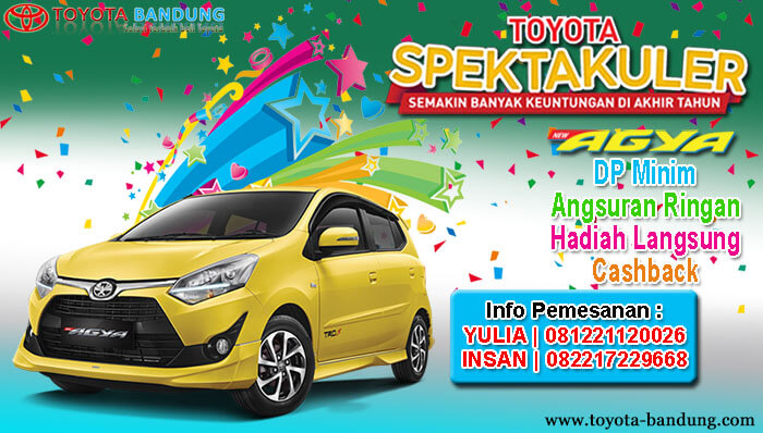 Promo Agya Bandung Akhir Tahun 2019