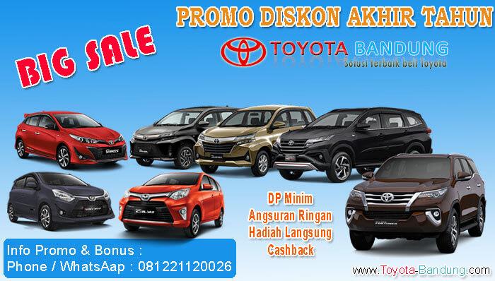 Promo Diskon Akhir Tahun Toyota Bandung