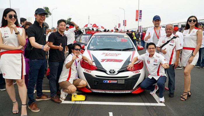 Toyota Meraih Juara Nasional Kejurnas
