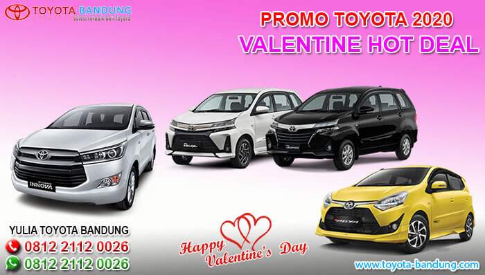 PROMO TOYOTA 2020 VALENTINE HOT DEAL