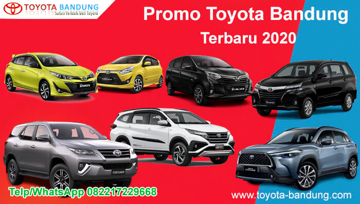 Promo Toyota Bandung Terbaru 2020