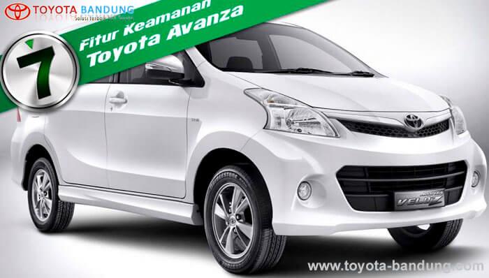 Toyota Avanza Dengan 7 Fitur Keamanan