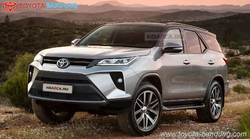 Toyota Fortuner Facelift Diprediksi Sudah Mulai di Jalur Produksi