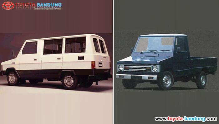 2nd Generation 1981 – 1985: Kijang Doyok