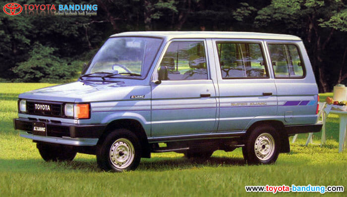 3rd Generation 1986 – 1996 : Kijang Super