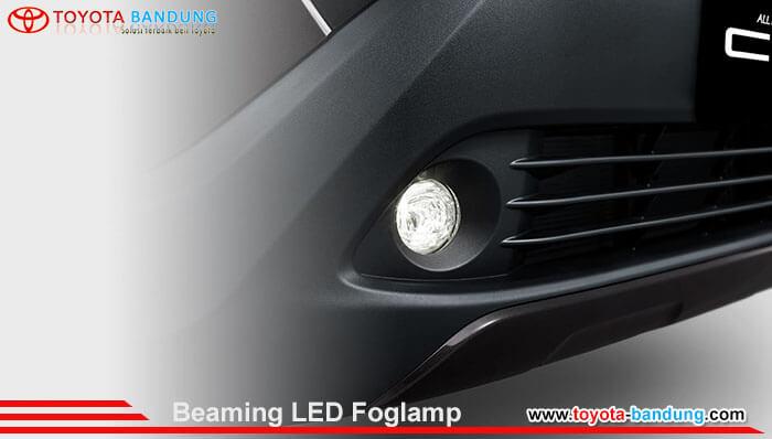 Beaming LED Foglamp