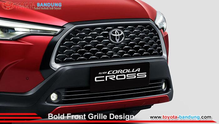 Bold Front Grille Design