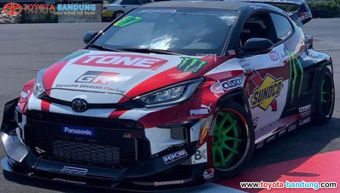 Debut Toyota Yaris 2JZ Pertama Di Dunia