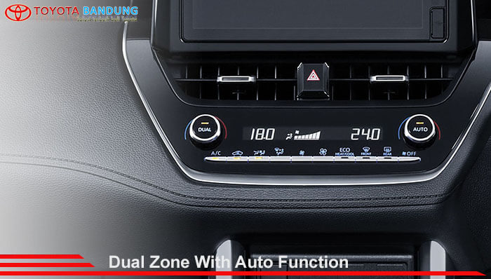 Dual Zone With Auto Function