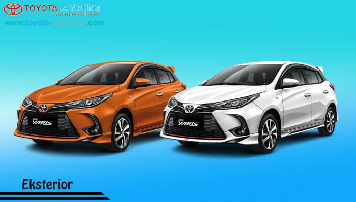 Eksterior Toyota New Yaris