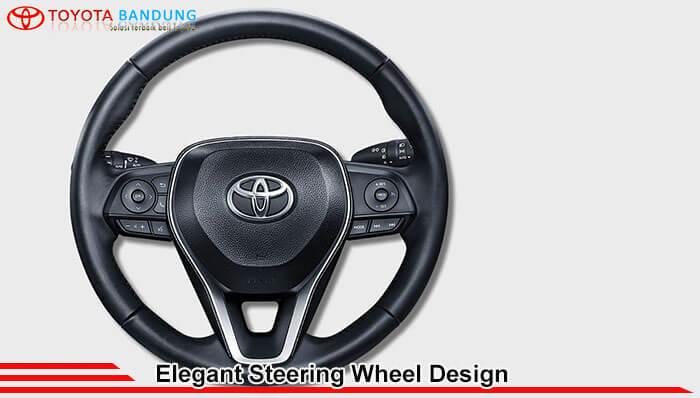 Elegant Steering Wheel Design