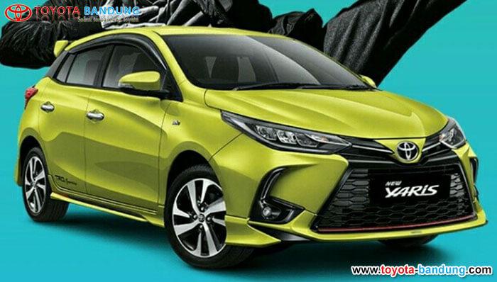 Harga dari Toyota New Yaris Tembus Rp300 Jutaan