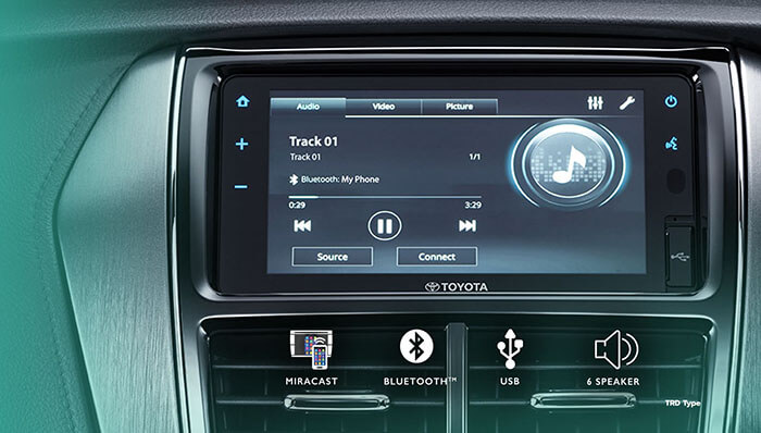 New Advanced Infotainment System with Smartphone Connection