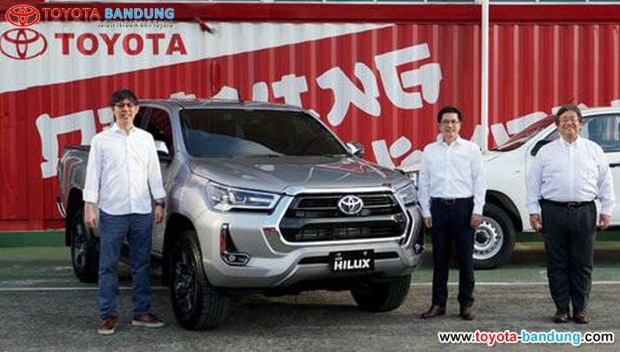 Toyota Targetkan Jual 600 Unit New Hilux per Bulan Setelah Pasar Membaik