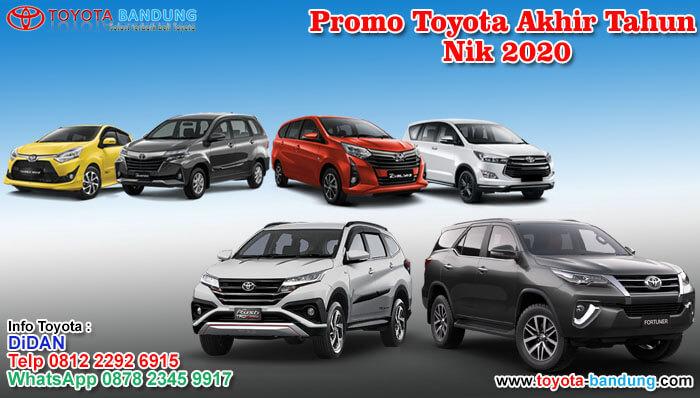 Promo Toyota Akhir Tahun Nik 2020