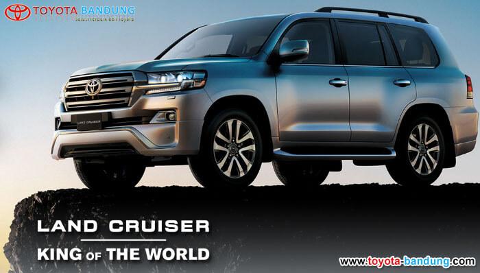 Harga Toyota Land Cruiser Bandung