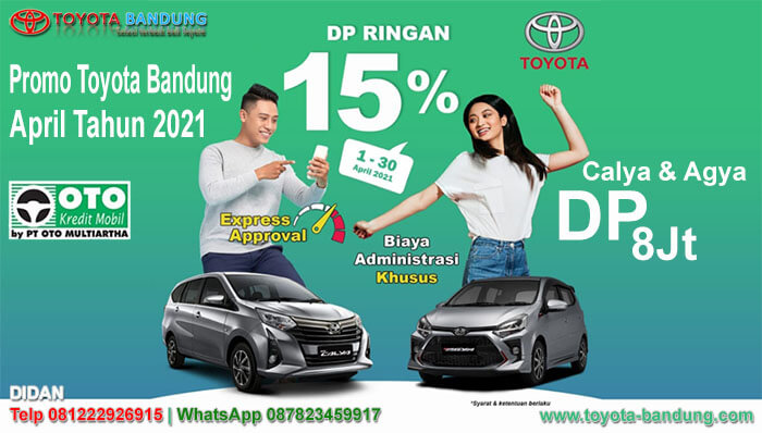 Promo Toyota April Tahun 2021