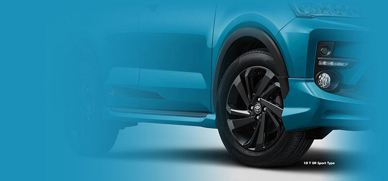 17' Black Wheels