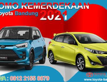 Promo Kemerdekaan Toyota Bandung Agustus 2021